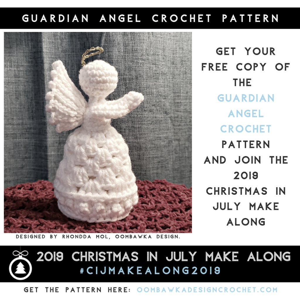 Guardian Angel Crochet Pattern 2019 Oombawka Design Crochet