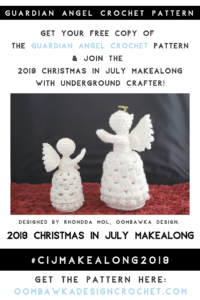 Guardian Angel Crochet Pattern 2019 Oombawka Design Crochet PIN