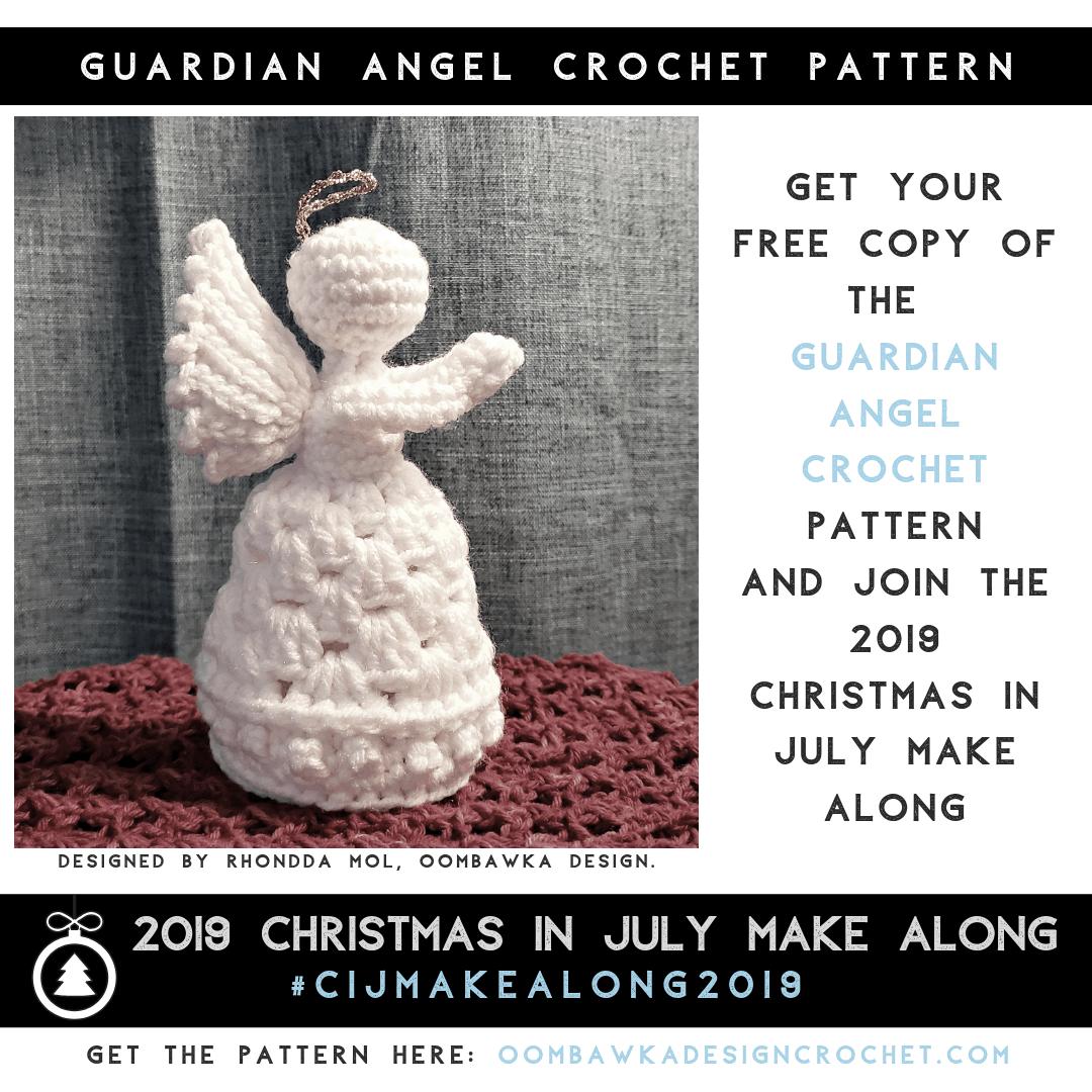 Crochet Amigurumi Doll Angel - Free Patterns - DIY 4 EVER | 1080x1080