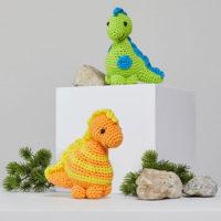 Stellan and Stanley Dinosaur Patterns