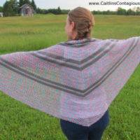 Summer-Wildflowers-Triangle-Shawl-Free-Crochet-Pattern