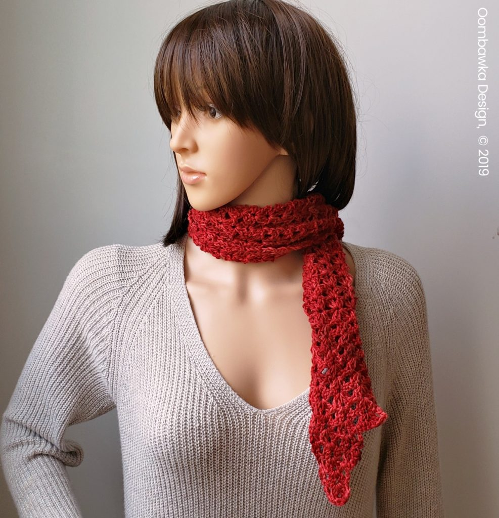 Sweet Cassidy Scarf Pattern