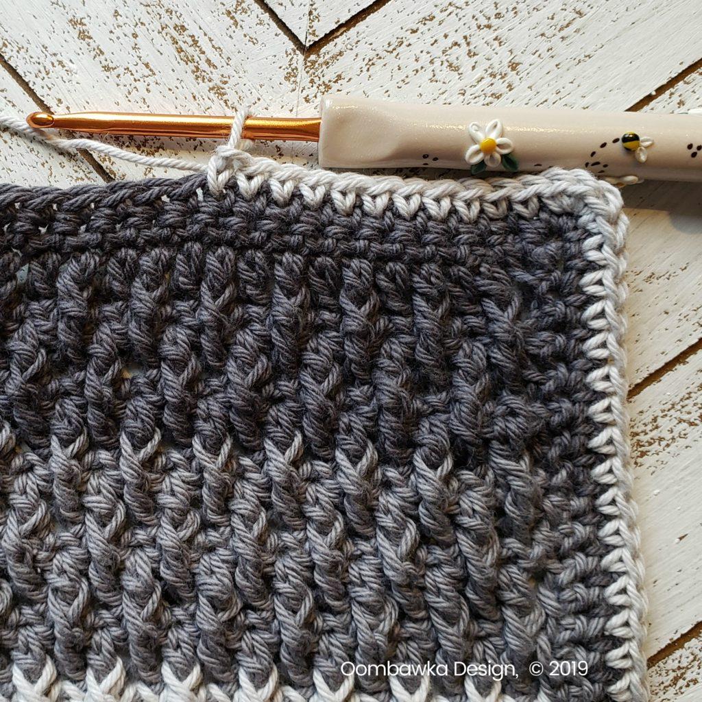 Tranquil Washcloth Edging 3 a Oombawka Design Crochet