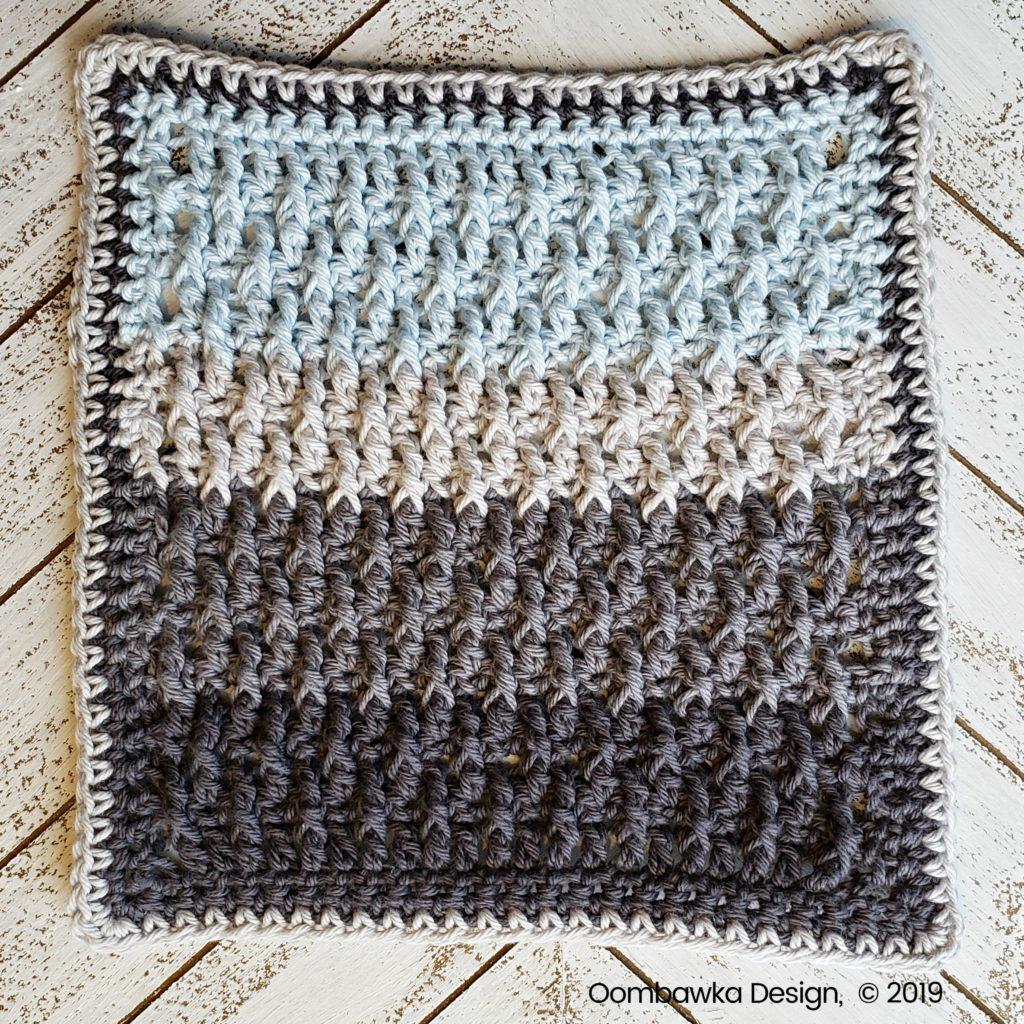 Tranquil Washcloth Edging 3 d Oombawka Design Crochet