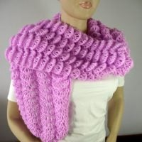 Featured at Wednesday Link Party 305. Bohemia Wrap Shawl Knitting Pattern
