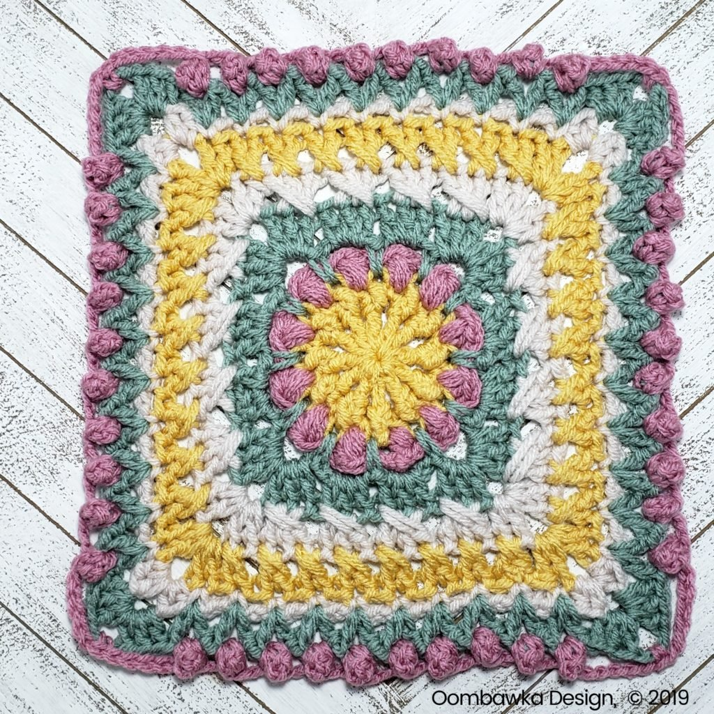 A Little Bit of This Afghan Square Round 10