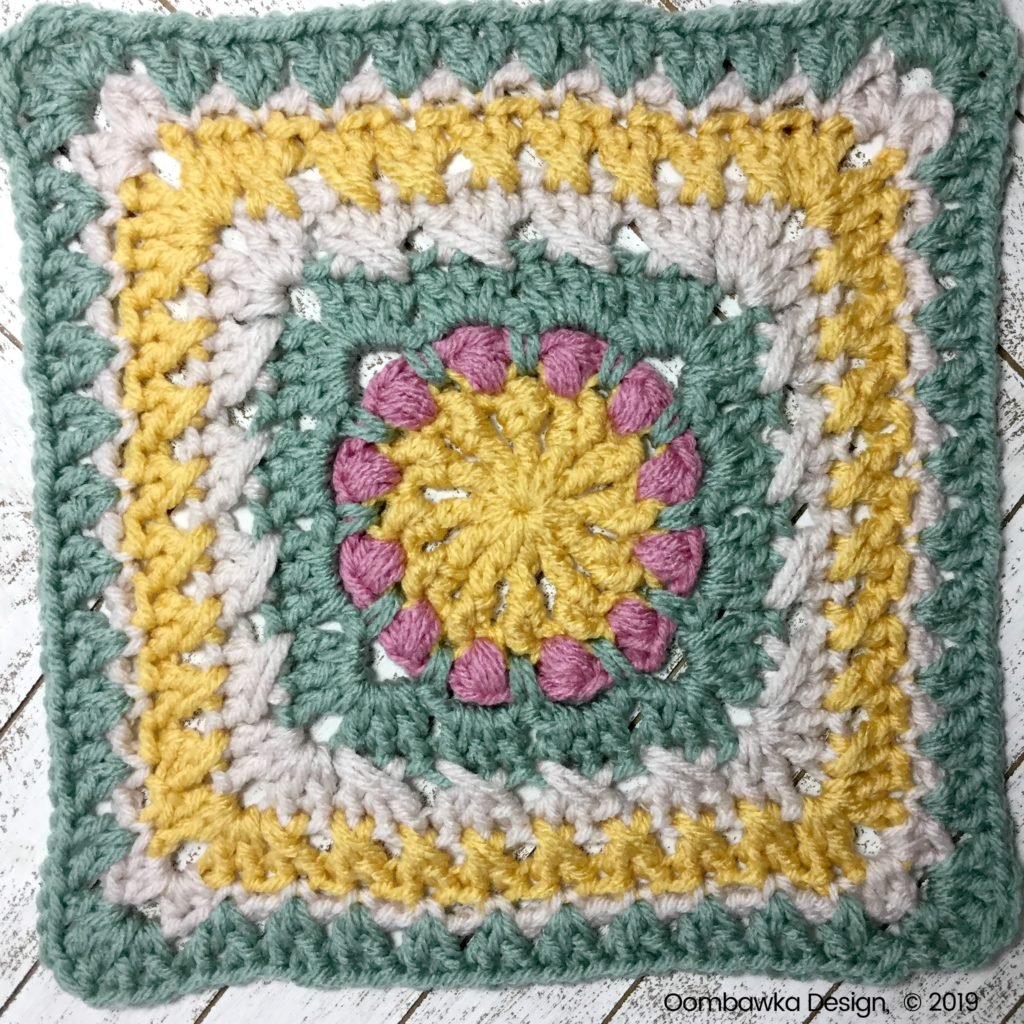 A Little Bit of This Afghan Square Round 9