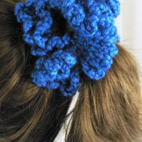 Caron Party Scrunchie Pattern