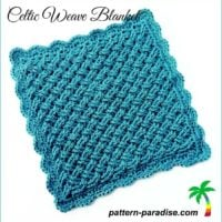 Celtic Weave Baby Blanket Pattern