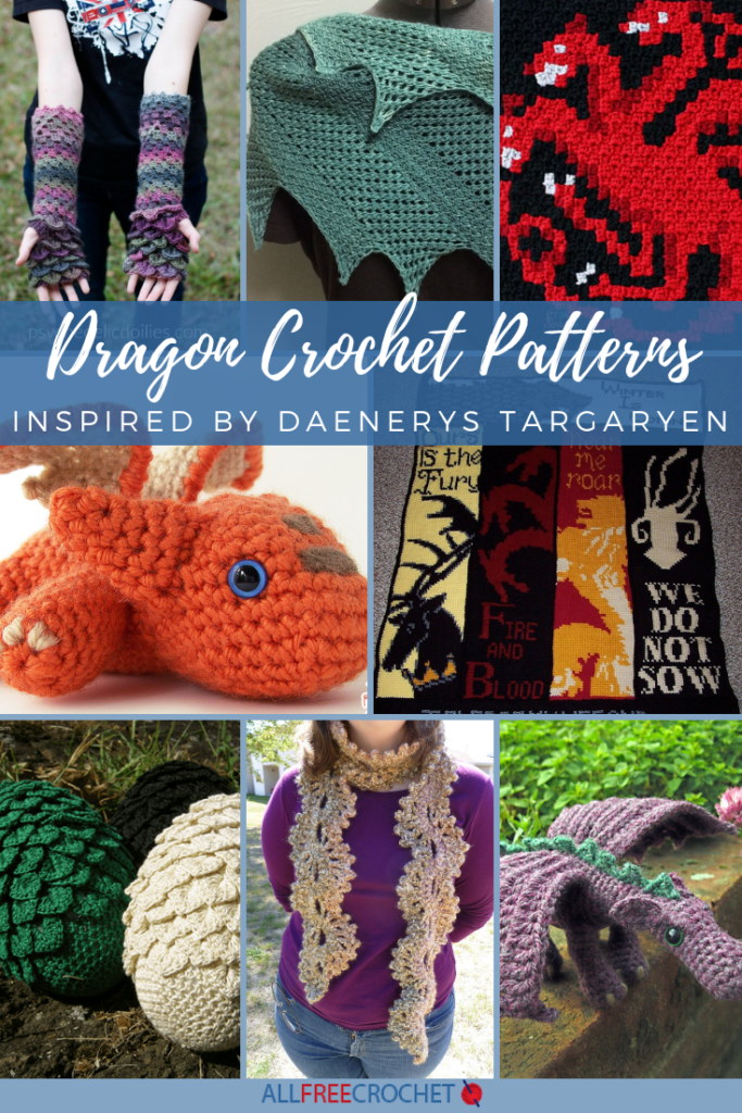 30 Crochet Dragon Patterns Inspired by Daenerys Targaryen