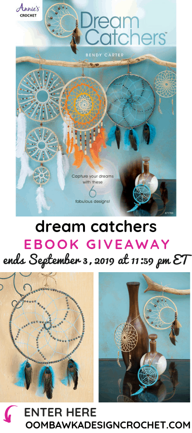 Dream Catchers eBook Review and Giveaway at Oombawka Design ends September 3 2019 1159 pm ET