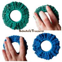 Easy Crochet Scrunchie Pattern