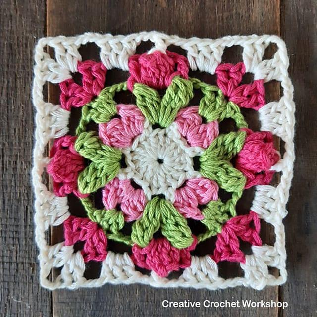 Floret Mini Square Pattern