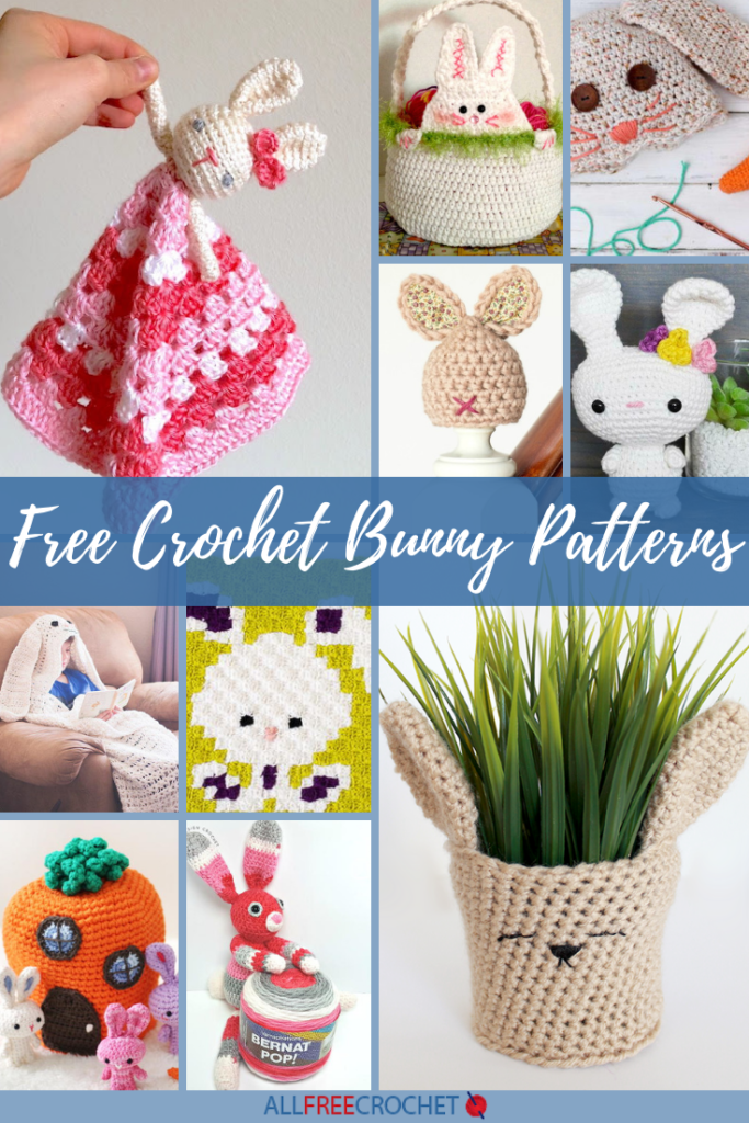 17 Free Crochet Bunny Patterns
