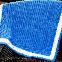 Bennington Baby Blanket Pattern