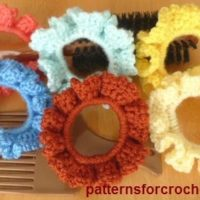 Free Crochet Scrunchie Pattern