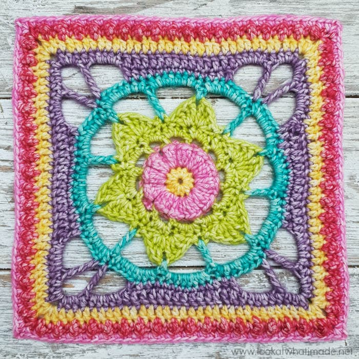 Jeanette Square Pattern