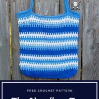 Featured at Wednesday Link Party 310: The Vendbar Tote Bag by The Loopy Lamb