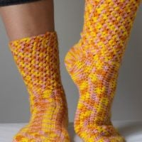 Magic Socks Crochet Pattern - LiliaCraftParty