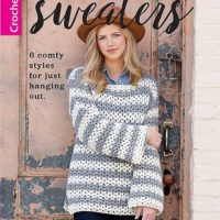 Oversized Sweaters by Melissa Leapman at Leisure Arts. Review by Rhondda Mol at Oombawka Design Crochet