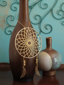 Pure Gold - Dream Catchers - Annie's Craft Store - Book Review by Oombawka Design Crochet