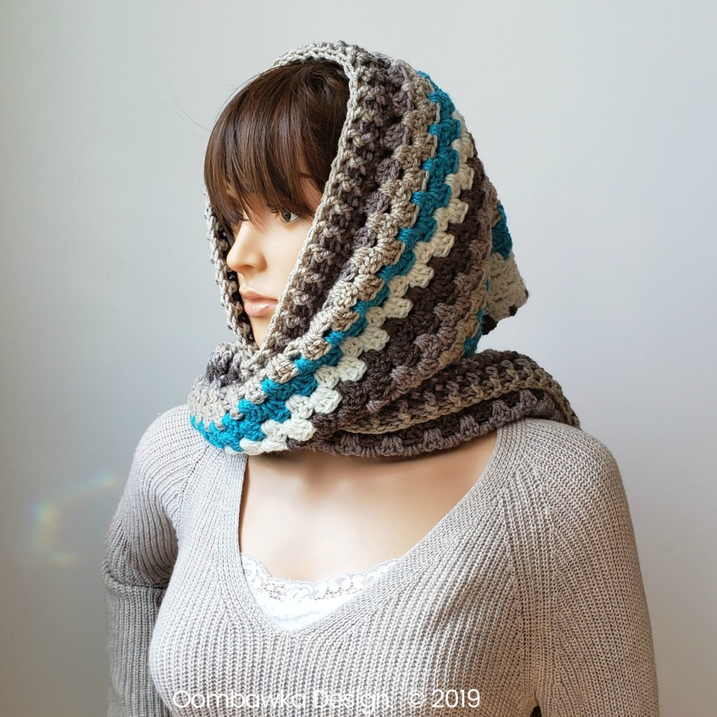 Winter's Coming Hooded Scarf Rhondda Mol ODC