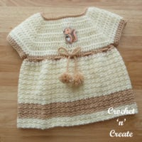 Woodland Baby Dress Pattern
