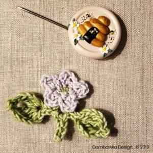 11 Flowers Pretty Posies Square Oombawka Design Crochet