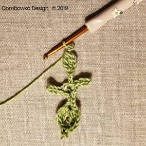 13 Leaves Pretty Posies Oombawka Design Crochet