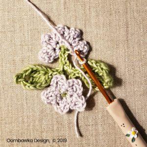 14 Flowers Pretty Posies Square Oombawka Design Crochet