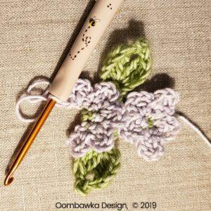 15 Flowers Pretty Posies Square Oombawka Design Crochet