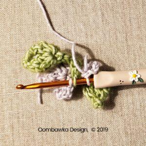 16 Flowers Pretty Posies Square Oombawka Design Crochet