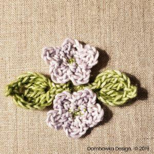 17 Flowers Pretty Posies Square Oombawka Design Crochet