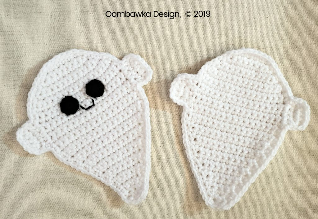 4 Ghost Coin Purse Tutorial Oombawka Design Crochet