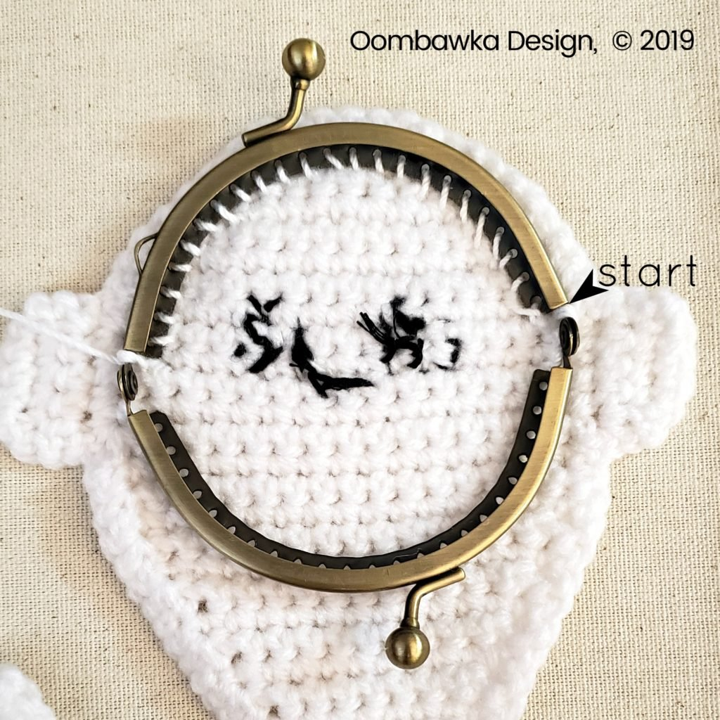 5 Ghost Coin Purse Tutorial Oombawka Design Crochet