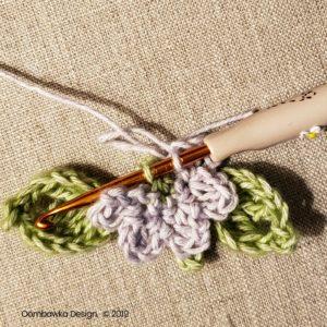 6 Flowers Pretty Posies Square Oombawka Design Crochet
