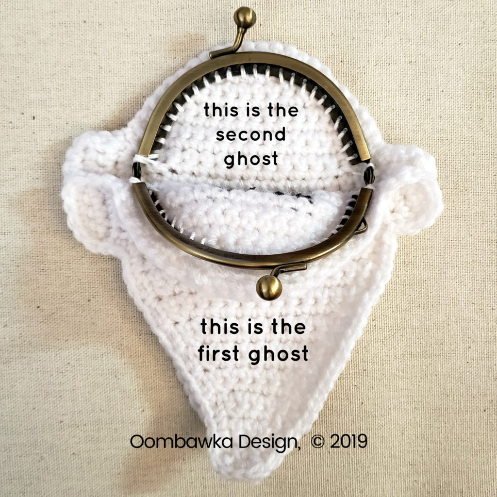 6 Ghost Coin Purse Tutorial Oombawka Design Crochet