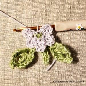 7 Flowers Pretty Posies Square Oombawka Design Crochet