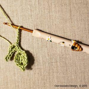 7 Leaves Pretty Posies Oombawka Design Crochet