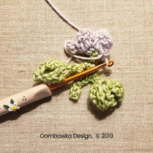 8 Flowers Pretty Posies Square Oombawka Design Crochet