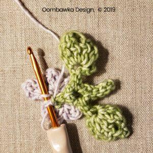 9 Flowers Pretty Posies Square Oombawka Design Crochet