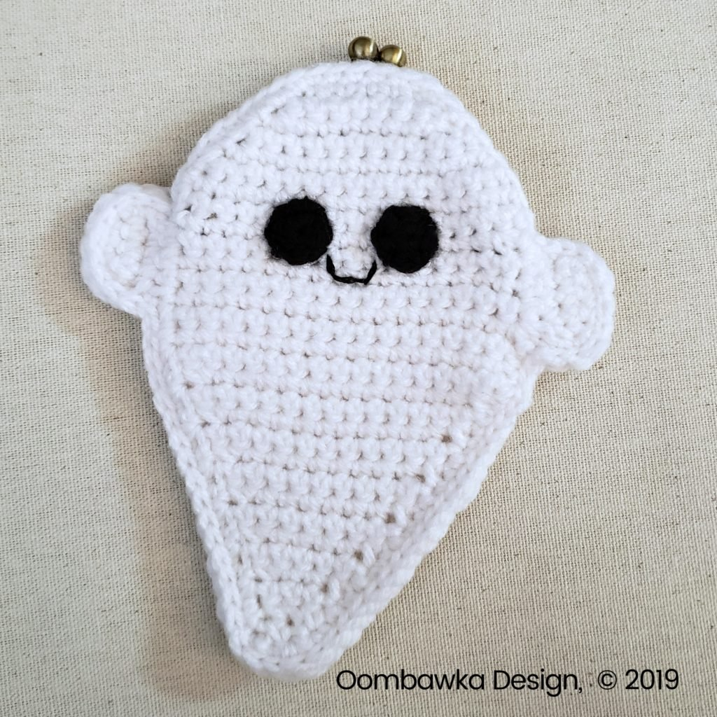 9 Ghost Coin Purse Tutorial Oombawka Design Crochet