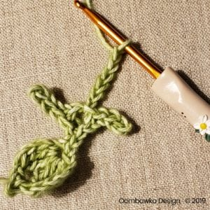 9 Leaves Pretty Posies Oombawka Design Crochet