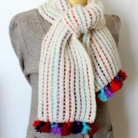 Featured at Wednesday Link Party 312 is the Alaska Scarf