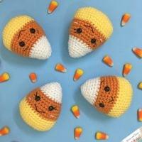 Amigurumi Candy Corn Free Pattern