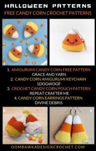 Candy Corn Crochet Patterns Free Pattern Roundup Oombawka Design Crochet