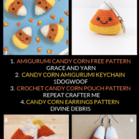 Candy Corn Crochet Patterns Free Pattern Roundup Oombawka Design Crochet