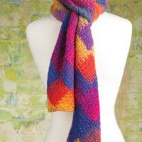 Crochet Entrelac Scarf Annie's Craft Store