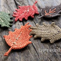 Crochet Fall Leaf Pattern