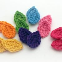 Crocheted Leaves Pattern